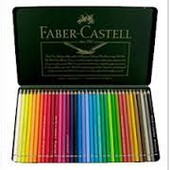 Boite M�tallique 36 Crayons Aquarellables A. D�rer - Faber-Castell