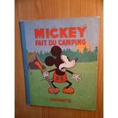 Mickey Fait Du Camping de walt disney
