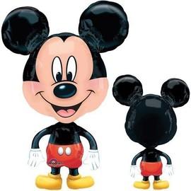 Ballon Aluminium Super-Forme Mickey Mouse- Avec Poids