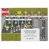 Busch Environnement - Bue8121 - Mod�lisme Ferroviaire - Panneau De Signalisation Routi�re