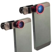 Objectif fish-eye grand angle Micro pour t�l�phone