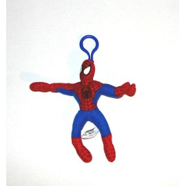 Spiderman Peluche Porte Cles Clefs Play By Play 16,5cm