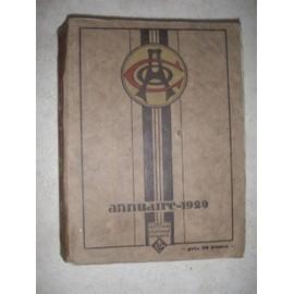 Mobiloil. Annuaire 1929