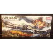 A-37b Dragonfly-(Limited Edition Maquette Avion)(1/72)(Academy)(Korea).