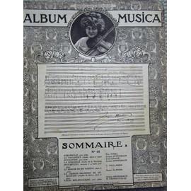 album Musica n° 68; Vidal, Offenbach,L Ganne,Vuillemin, Alphen,Léoncavallo