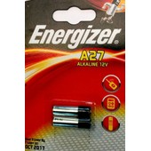 Energizer Blister De 2 Pile Alcaline A27/E27a 12v