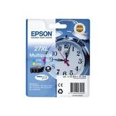 Epson 27xl Multi-Pack (C13t27154010) - Cartouche D'impression - 1 X Jaune, Cyan, Magenta - Bo�tier Rigide - Pour Workforce Wf-7620dtwf