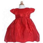 Robe Demoiselle D'honneur Fillette/ Robe Enfant Pour Mariage/ Soir�e/ C�r�monie/ Robe Princesse Col Rond A-Line Courte Color� Emilie Mariage