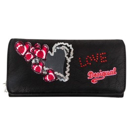 Portefeuille Desigual Maria Heart Punk - Collection �t� 2015