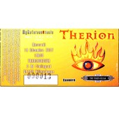 Ticket Concert Therion � Lyon 2007