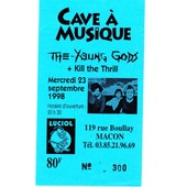 Ticket Concert Des Young Gods � Macon En 1998