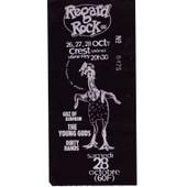 Ticket Concert Des Young Gods � Crest (Dr�me) En 1995