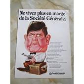 Affiche Publicitaire Soci�t� G�n�rale