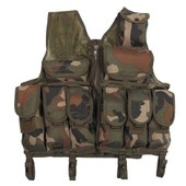 Gilet Intervention Tactique Camouflage Woodland