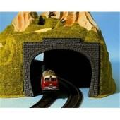 Noch - 34410 - Mod�lisme Ferroviaire - �l�ment De Route - Entr�e De Tunnel � 2 Voies - 95 X 7 Cm - 2 Pi�ces