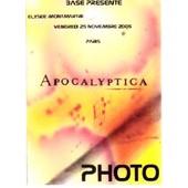 Pass Photo Apocalyptica Concert Paris 2005