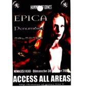 All Access Epica Concert Lyon 2005