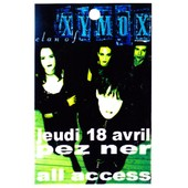 All Access Clan Of Xymox Concert Villeurbanne 2002