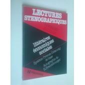 Lectures Stenographiques Litt�raires �conomiques Sociales Syst�me Pr�vost Delaunay De Base Autographie De R Brandebourger de r birgand