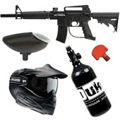 Pack Complet Paintball Lanceur Bt Omega - Air