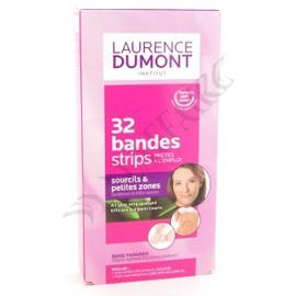 32 Bandes �pilation Sourcils Cire Froide Laurence Dumont