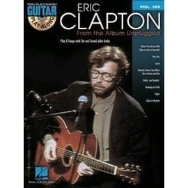 GUITAR PLAY ALONG VOL.155 From Unplugged CLAPTON ERIC + CD