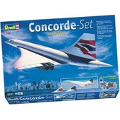 Revell - 05757 - Maquette - Coffret Concorde Set 1969-2003 - 1:144