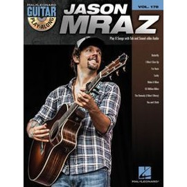 GUITAR PLAY ALONG VOL.178 MRAZ JASON + CD