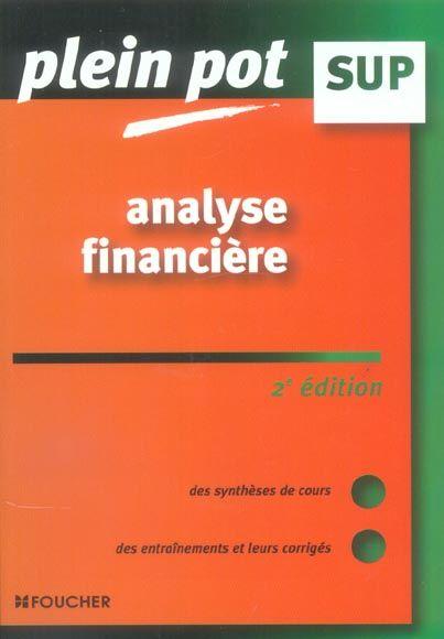 Analyse financière Enseignement supérieur, BTS, DUT tertiaires