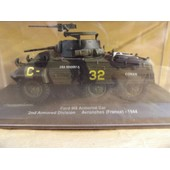 Militaire Ford M8 Armored Car France 1944-Eaglemoss
