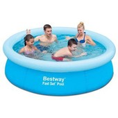 Piscine Gonflable Bestway Fast Set Pool Ronde �198x51cm