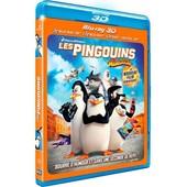 Les Pingouins De Madagascar - Combo Blu-Ray3d + Blu-Ray+ Dvd de Eric Darnell