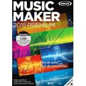 Magix Music Maker 2015 Premium Cd Pc