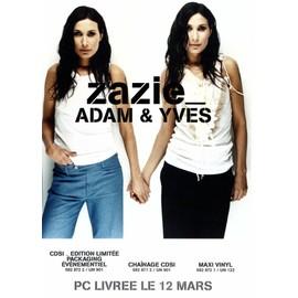 ZAZIE ADAM & YVES PLAN MEDIA (sans cd)