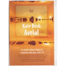 KATE BUSH Bon Précommande / POSTER Aerial