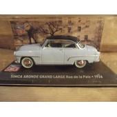 Simca Aronde Grand Large Rue De La Paix 1956-Altaya