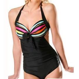 Maillot De Bain Une 1 Pi�ce Monokini Trikini Noir Rouge Marron Blanc Plusieurs Taille