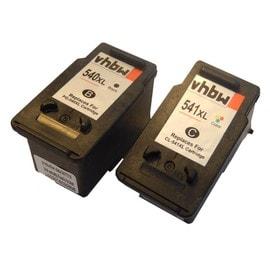 Lot Cartouche Noire Et Couleur Pour Canon Pixma Mg2140 Mg2150 Mg2250 Mg3140 Mg3150 Mg3250 Mg4140 Mg4150 Mg4250 Mx375 Mx515. Remplace: Pg-540, Cl-541