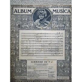 album MUSICA n°95: F.W.Rust; Mouret; C.Galeotti; A Casella;W.Marie; P.Vidal;J.Brès;E Mathé