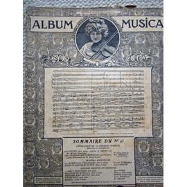 Album MUSICA n° 93 : P.E.Bach;A.Boesset sieur de Villedieu;C.Terrasse;L.Ganne; J.Huré;M.Delage; Roger-Ducasse; L.Moreau; E Dejan