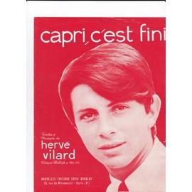 Capri c'est fini (Hervé VILARD)