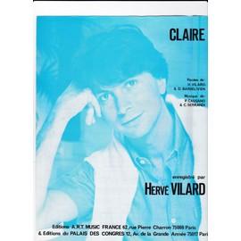 Claire (Hervé VILARD)