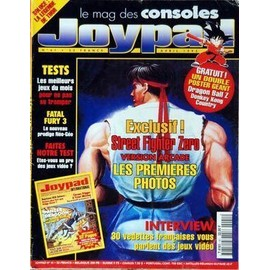Joypad N� 41 Du 01/04/1995 - Street Fighter Zero Version Arcade - Les 1eres Photos - 30 Vedettes Francaises Vous Parlent Des Jeux Video - Fatal Fury 3 -