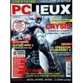 Pc Jeux N� 117 Du 01/12/2007 - Test Evenement / Crysis - Guitar Hero 3 - Operation Flashpoint 2 - Tom Clancy's Modern Air Combat - Exalight - Silverfall - Speedball 2 - Tests / Call Of Duty 4 - Tiger Woods 2008 - Orange Box - Sega Rally - Aar Chro...