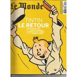 Tintin Le Retour Hors Serie