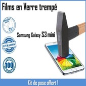 Vitre Film De Protection En Verre Tremp� �cran Incassable Pour Samsung Galaxy S3 Mini