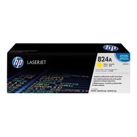 Hp 824a - Jaune - Original - Laserjet - Cartouche De Toner ( Cb382a ) - Pour Color Laserjet Cl2000, Cm6030, Cm6040, Cp6015
