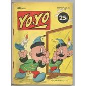Yo.Yo Mensuel N�8 Yoyo Professeur Okey L'ile Au Tresor Mars 1958 N�8