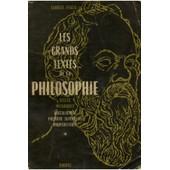 Les Grands Textes De La Philosophie / Pascal, Georges / R�f 11462 de Pascal, Georges