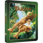 Tarzan - Zavvi Exclusive Limited Edition Steelbook (The Disney Collection #29) Blu-Ray de Chris Buck